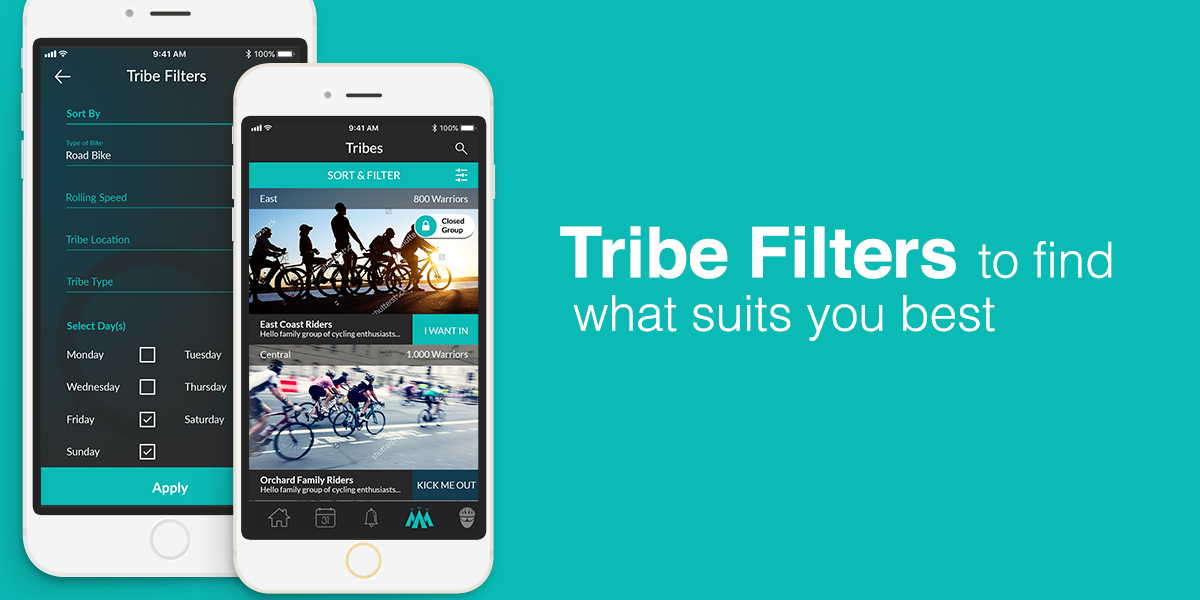 Tribe filters