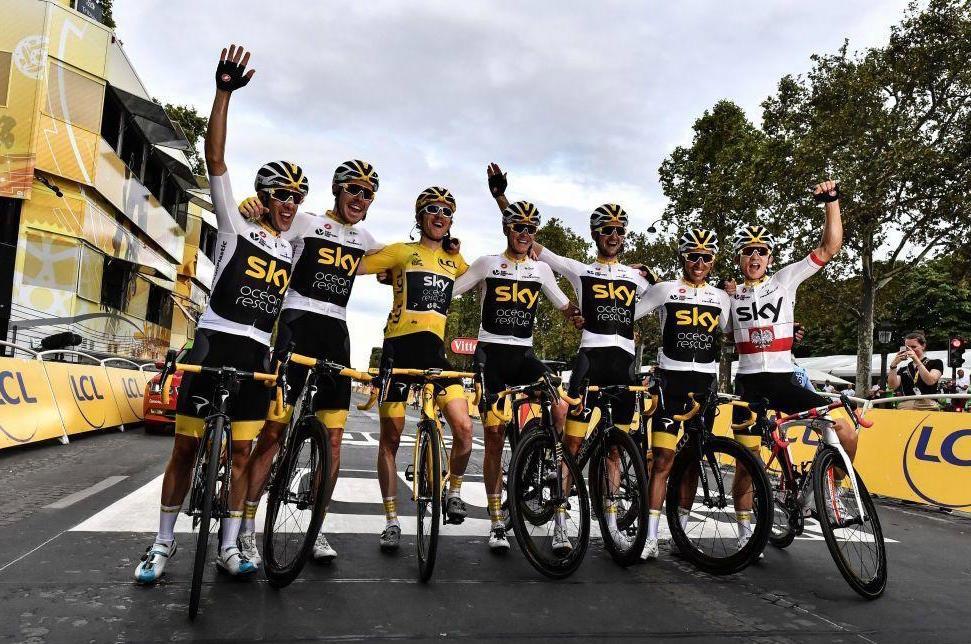 80ffc89c825 Thomas' Tour De France Triumph With Dura-Ace
